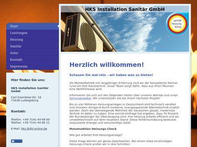 HKS Installation Sanitär GmbH
