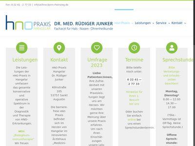 Dr. med. Rüdiger Junker