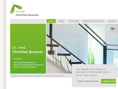 Dr. med. Christian Brunner