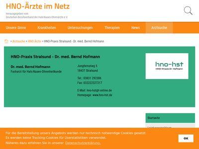 Dr. med. Bernd Hofmann