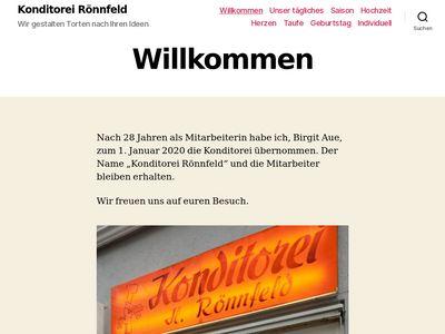 Konditorei Holger Rönnfeld