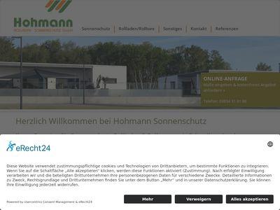 Hohmann Rolladen . Sonnenschutz GmbH