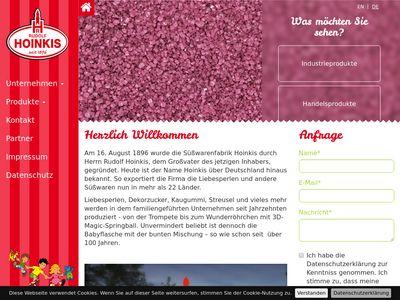 Süsswarenfabrik Rudolf Hoinkis GmbH