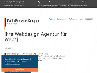 Web Service Kaupa