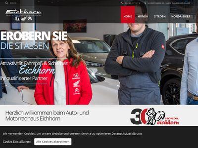 Honda Motorradhaus Eichhorn Weissenfels