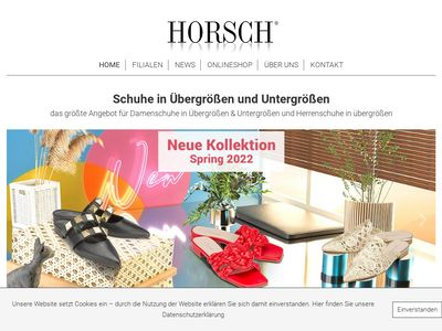 Schuhhaus Horsch Sondergrössen