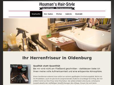 Houmans Hair Style