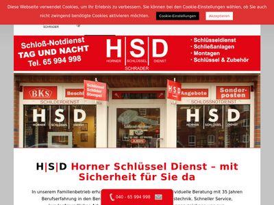 HSD - Horner Schlüssel Dienst