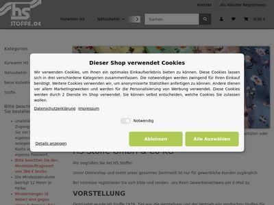 HS Stoffe Hubert SCHUSTER GmbH & Co.
