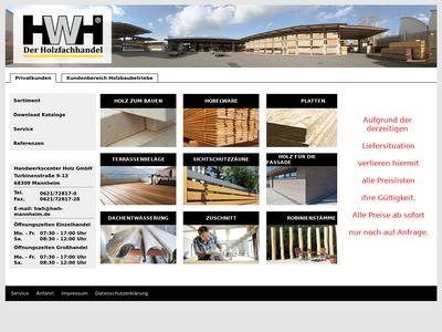 Handwerkscenter Holz GmbH
