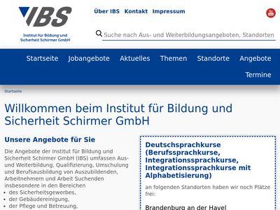 IBS Institut für Bildung und Sicherheit