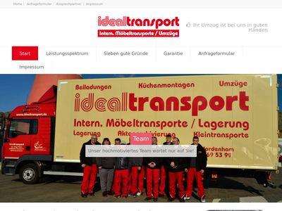 Idealtransport Inhaber Holger Peters