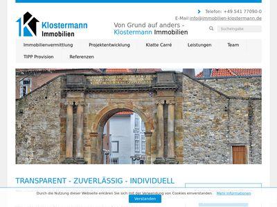 Klostermann Immobilien Osnabrück