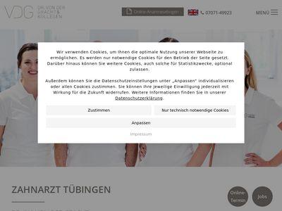 Zahnarzt Tübingen - Hanns-Dieter Ruoff