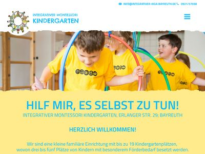 Integrativer Montessori Kindergarten