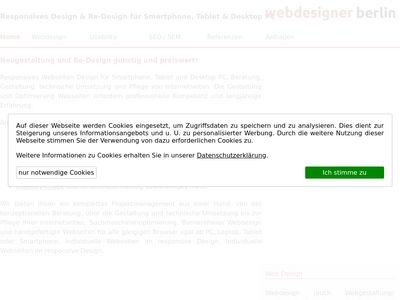 Freelancer Webdesigner Berlin