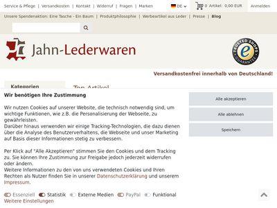 Jahn-Lederwaren