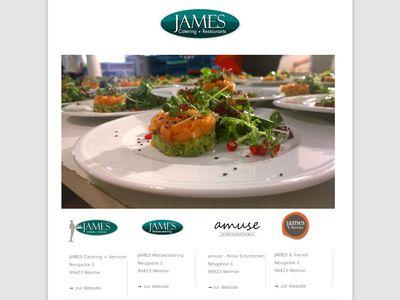 James Catering+Restaurants