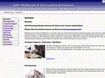 JaWo Webdesign & Internetdienstleistungen