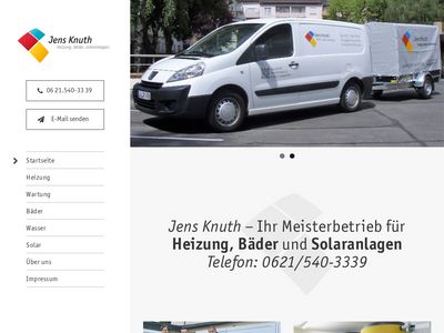 Jens Knuth, Heizung-Bäder-Solar