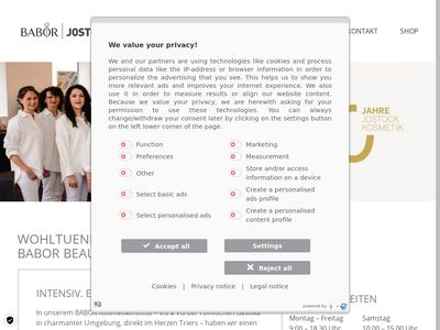 BABOR Beauty SPA Jostock Trier