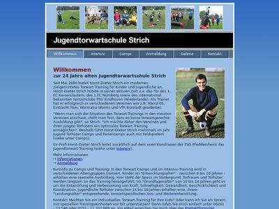 Horst-Dieter Strich - Jugendtorwartschule