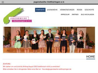 Jugendweihe Ostthüringen e.V.