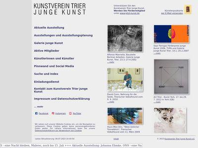 Kunstverein Trier Junge Kunst