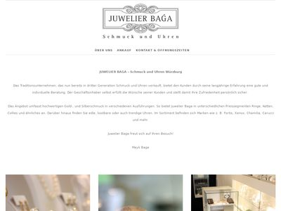 Juwelier Baga - Schmuck und Uhren