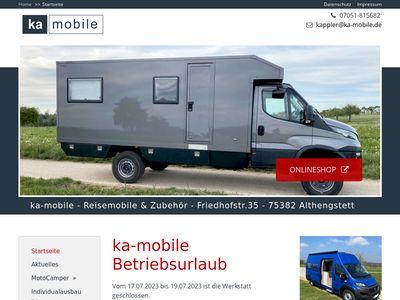 Ka-mobile - Reisemobile und Zubehör
