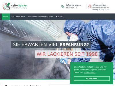Kalsky Lackietechnik Kfz- Lackierungen