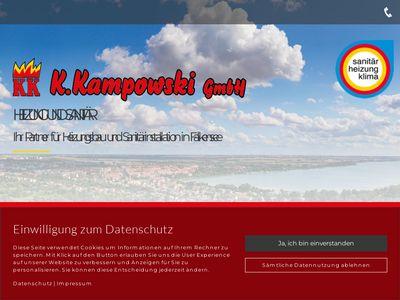 Kampowski GmbH Heizung Sanitär