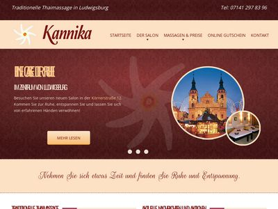 Kannika Thaimassage in Ludwigsburg