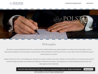 Rechtsanwalt Polster Kay