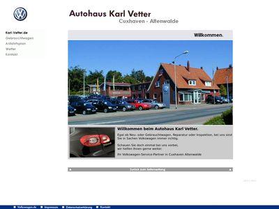 Autohaus Karl Vetter