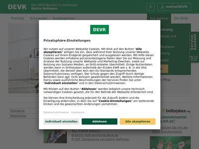 DEVK Versicherung: Katrin Hofmann