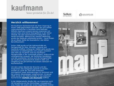 Kaufmann Küchentechnik GmbH