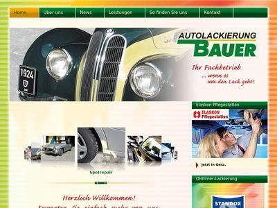 Autolackierung Bauer