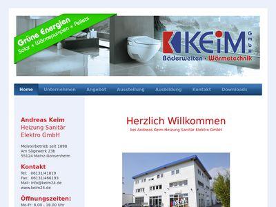 Andreas Keim Heizung-Sanitär-Elektro GmbH