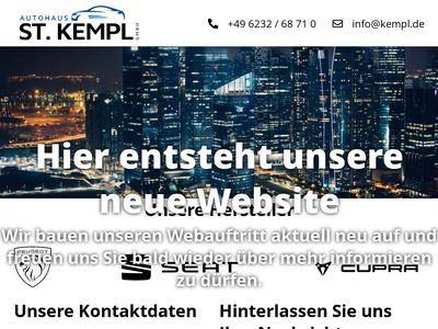 Peugeot Autohaus St. Kempl GmbH
