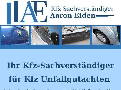 KFZ Sachverständiger Aaron Eiden