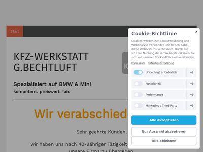 KFZ-Werkstatt G.Bechtluft