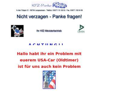 Manfred Panke Andreas Panke Kfz-Panke GbR
