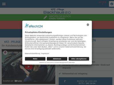 KFZ-Pflege Backhaus