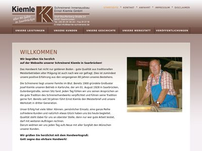 Schreinerei Ernst Kiemle GmbH