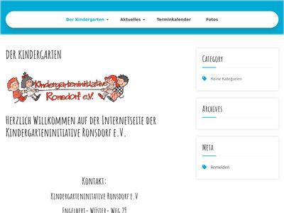 Kindergarten Ronsdorf e.V.
