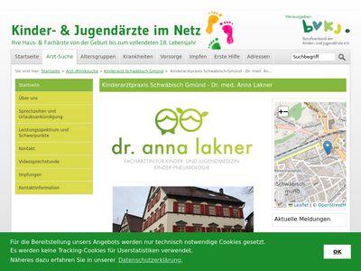 Dr. Hubert Lakner Kinder- und Jugendarzt