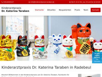 Dr. med. Katerina Taraben Kinderarztpraxis