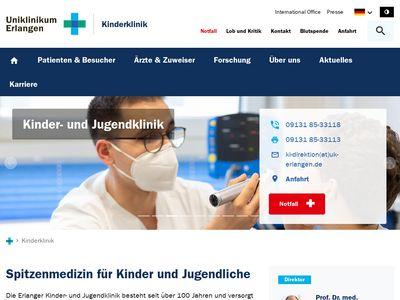 Kinder- und Jugendklinik - Erlangen