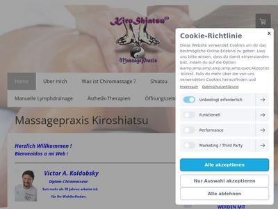 Massage Praxis KIROSHIATSU